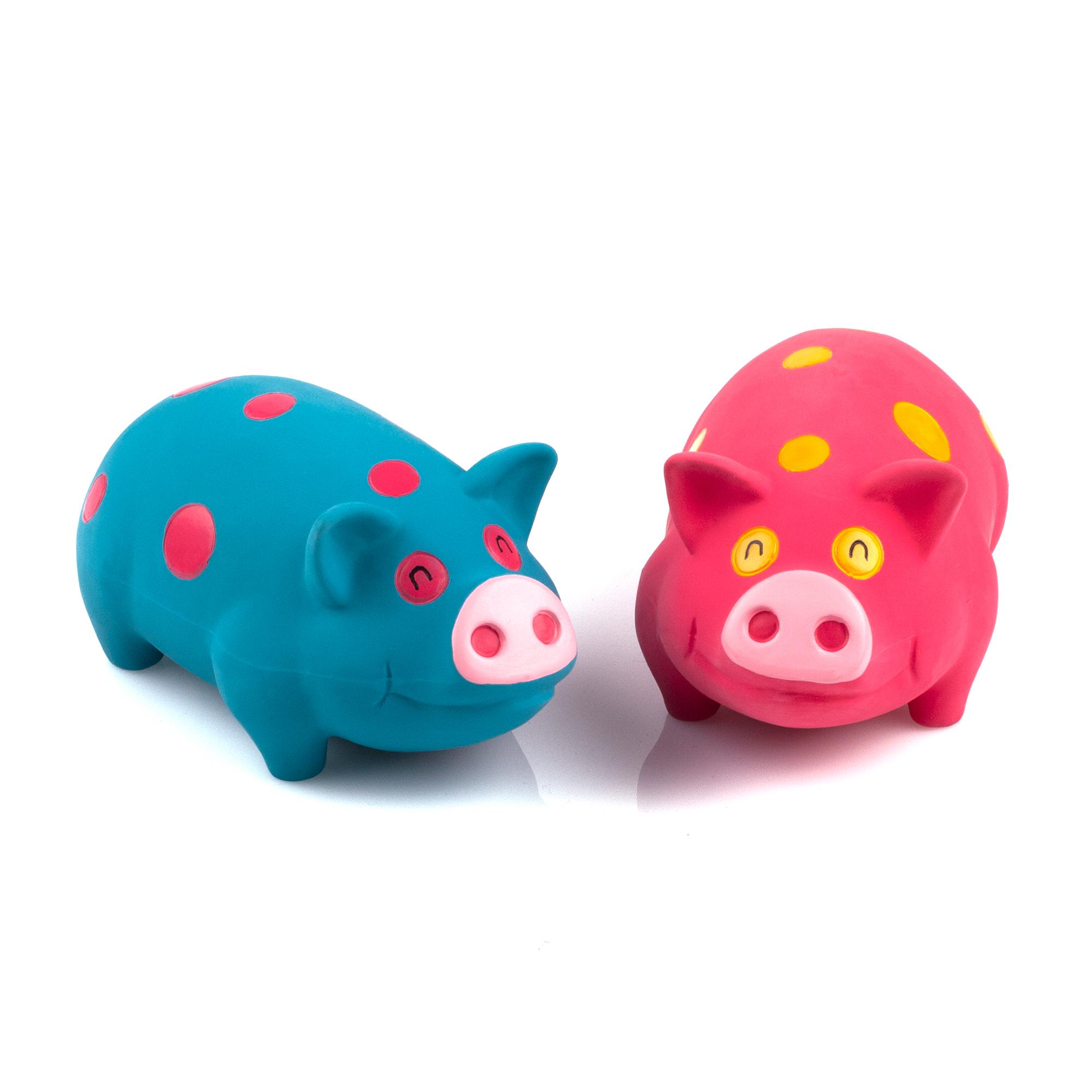 Chiwava 2 Pack Grunt Pig Dog Toys